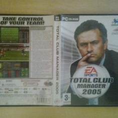 Joc PC - Total Club Manager 2005 (GameLand) - Jocuri PC, Strategie, 3+