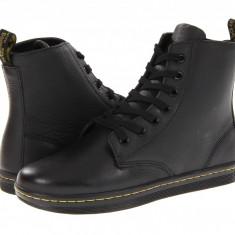 Dr. Martens Leyton 7-Eye Boot | Produs 100% original, import SUA, 10 zile lucratoare - z11409 - Gheata dama Dr Martens, Negru