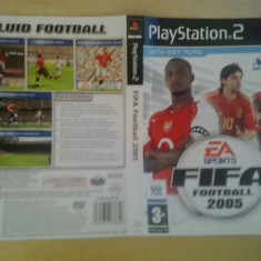Coperta - FIFA Fotball 2005 - PS2 ( GameLand )