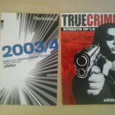Manual - True Crime - Streets of LA - Playstation PS2 ( GameLand )