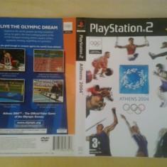 Coperta - Athens 2004 - PS2 ( GameLand )