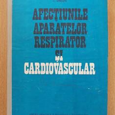 AFECTIUNILE APARATULUI RESPIRATOR SI CARDIOVASCULAR- C. STERIAN, CARTONATA - Carte Diagnostic si tratament