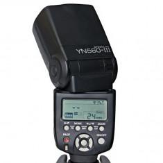 Blitz flash Yongnuo YN-560 III Flash Speedlite pentru Nikon, Canon. - Blitz dedicat Yongnuo, Aparat foto digital