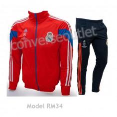 Trening ADIDAS REAL MADRID - Bluza si pantaloni conici - Modele noi Pret Special - Trening barbati, Marime: S, XL, XXL, Culoare: Din imagine