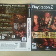 Coperta - Pirates of the Carribean The legend of Jack Sparrow PS2 ( GameLand )