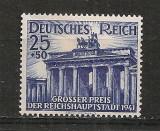 Deutsches Reich.1942 Marele Premiu la galop Berlin  PD.29, Nestampilat