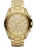 Ceas Michael Kors Unisex Bradshaw Chronograph Gold-tone MK5605, Michael Kors