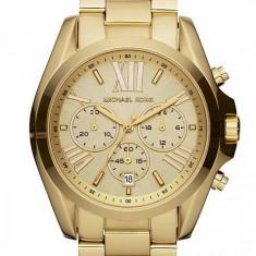 Ceas Michael Kors Unisex Bradshaw Chronograph Gold-tone MK5605 - Ceas unisex