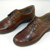 Pantofi barbati piele naturala Cobra -802 m, Marime: 41, Culoare: Maro