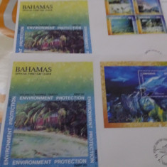 FDC Bahamas 1999 Fauna 2 val.
