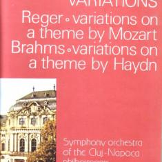 VINIL - Max Reger - Variatiuni si fuga pe o teme de Mozart OP 132 - Muzica Opera electrecord