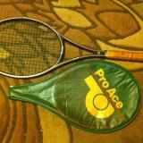 Racheta tenis Pro Ace MG-980 Midle size bor/ceramic ca noua - Racheta tenis de camp Nespecificat, SemiPro, Adulti, Organix/Carbon/Fibra de sticla