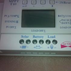 Controller/regulator solar incarcator solar MPPT T40A LCD + Cadou MC4