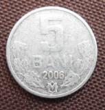 MOLDOVA 5 BANI 2006, Europa, Cupru-Nichel