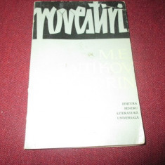 SALTIKOV SCEDRIN - POVESTIRI - Nuvela