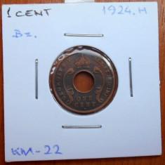 AFRICA DE EST 1 CENT 1923 KM 22, An: 1978, Cupru (arama)
