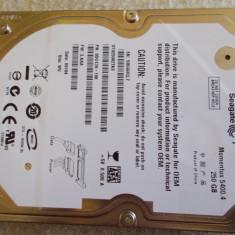 Vand Seagate Momentus 5400.4 250GB SATA2 in stare perfecta de functionare! - HDD laptop Seagate, 200-299 GB, 8 MB