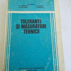 Tolerante Si Masuratori Tehnice - -- Dumitru Dragu, Gheorghe Badescu
