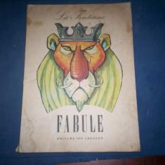 LA FONTAINE FABULE - Carte Fabule