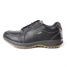 Pantofi impermeabili Grisport pentru barbati din piele (GR8653OV2G) - Pantof barbat Grisport, Marime: 44, 45, Culoare: Negru, Piele naturala