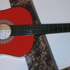 Chitara Rosie clasica incepatori cu corzi de metal si pana marime