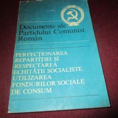 DOCUMENTE ALE PARTIDULUI COMUNIST ROMAN
