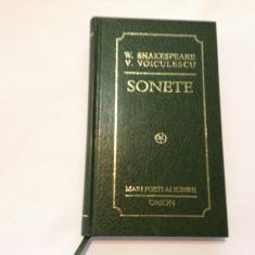 W SHAKESPEARE,V VOICULESCU SONETE,EDITIE BIBLIOFILA,RF9/1