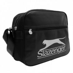 Geanta Flight bag Slazenger -Import Anglia-super model - Geanta Barbati, Marime: Medie, Culoare: Din imagine, Geanta tip postas
