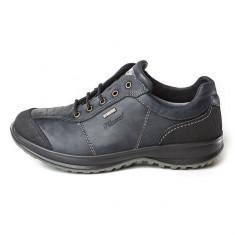 Pantofi impermeabili barbatesti din piele, marca Grisport (GR8607DV7G) - Pantof barbat Grisport, Marime: 44, Culoare: Negru, Piele naturala