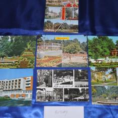 Lot  7 CP BUZIAS. (Carti postale vechi,Vederi Romania)