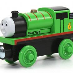 Locomotiva Percy, colectia Thomas si prietenii sai, Trenulet Fisher Pricee lemn Thomas, 4-6 ani, Baiat