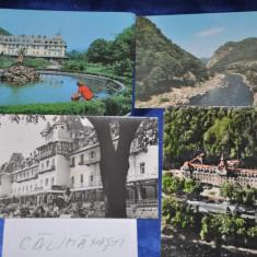 Lot 4 CP CALIMANESTI. (Vederi vechi Romania), Circulata, Fotografie, Romania de la 1950