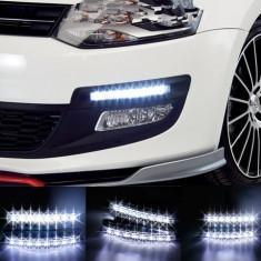 PROIECTOARE LUMINI DE ZI DRL 8 LED