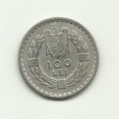 ROMANIA 100 LEI 1932 ARGINT - EF - Moneda Romania