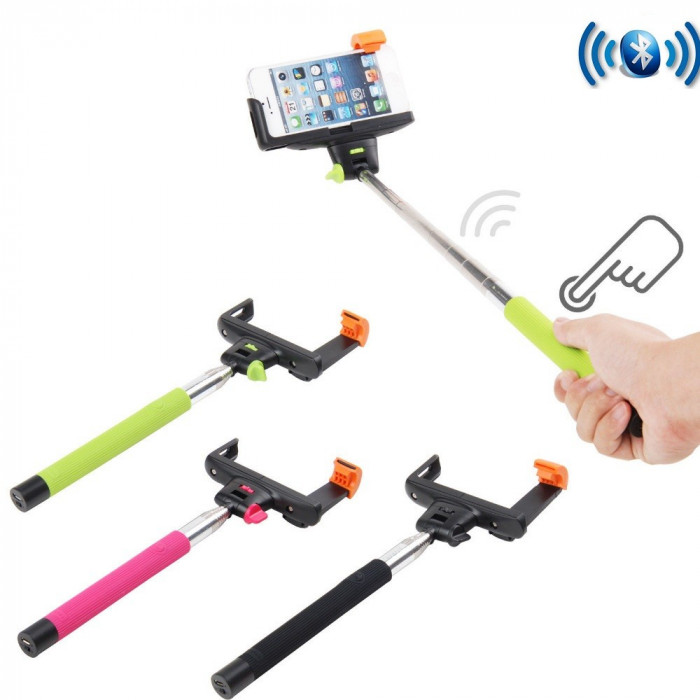 Selfie Stick Monopod  Bluetooth foto mare