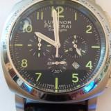 Luminor Panerai Daylight-cronograph - Ceas barbatesc Panerai, Lux - elegant, Quartz, Piele, Analog