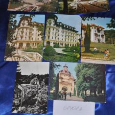 Lot 7 CP GOVORA. Vederi vechi Romania., Circulata, Fotografie, Romania de la 1950