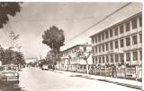 """CPI (B5735) PASCANI. SCOALA DE 12 ANI """"CONSTANTIN BURCA"""", CIRCULATA 1963, RPR"""