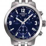 Ceas Barbatesc Tissot New PRC 200 Ecran Albastru, Lux - sport, Quartz, Inox, Cronograf