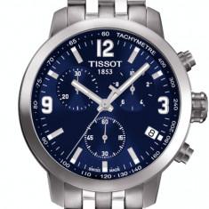 Ceas Barbatesc Tissot New PRC 200  Ecran Albastru, Casual, Quartz, Inox