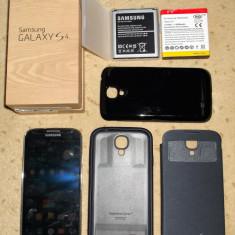 Samsung Galaxy S4 I9505 - Telefon mobil Samsung Galaxy S4, Negru, 16GB, Neblocat, Single SIM