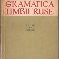 GRAMATICA LIMBII RUSE, EDITURA DIDACTICA 1964, M.POPESCU, L.DUDNICOV, L.SOLCANESCU