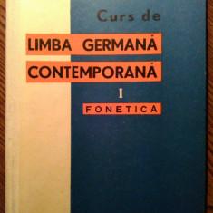 Bruno Colbert - Limba germana contemporana - I - Fonetica