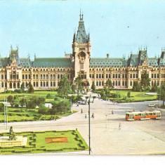 CPI (B5797) IASI. PALATUL CULTURII - Carte Postala Moldova dupa 1918, Necirculata, Fotografie