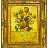 FLOAREA SOARELUI .3, Flori, Ulei, Impresionism