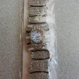 Bratara Argintie Cu Ceas