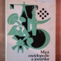Mica enciclopedie a jocurilor milos zapletal editura sport turism 1980 hobby
