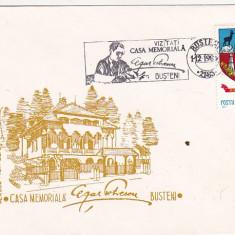 Bnk fil Plic ocazional Casa memoroala Cezar Petrescu Busteni 1985, Muzica