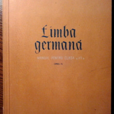 Limba germana - Manual pentru clasa a VII-a - Anul II