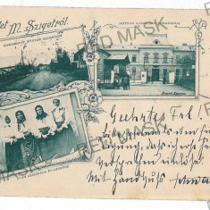 3084 - SIGHET, ETHNICS, Maramures, Litho - old postcard - used - 1899 - Carte Postala Maramures pana la 1904, Circulata, Printata